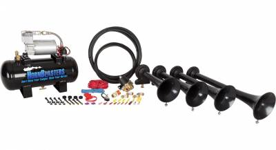 08-10 6.4L Power Stroke - Exterior Accessories - HornBlasters - HornBlasters Conductor's Special 127H Train Horn Kit
