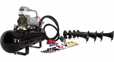 HornBlasters - HornBlasters Conductor's Special 228V Train Horn Kit - Image 3