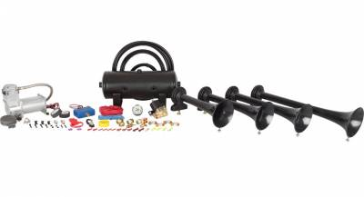 Exterior Accessories - Towing/Pulling & Cargo - HornBlasters - HornBlasters Conductor's Special 232 Train Horn Kit