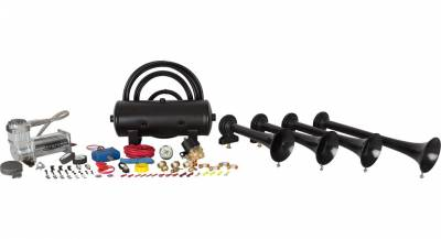 Exterior Accessories - Towing/Pulling & Cargo - HornBlasters - HornBlasters Conductor's Special 240 Train Horn Kit