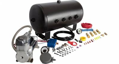 01-04 LB7 - Exterior Accessories - HornBlasters - HornBlasters AirChime P5 540 Train Horn Kit