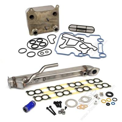 Engine Parts & Performance - Oil Cooler - XDP Diesel Power - XDP Powerstroke Basic Solution Kit (EGR Cooler & Oil Cooler)