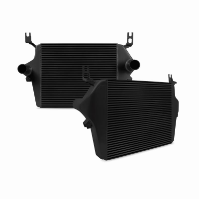 Mishimoto - Ford 6.0L Powerstroke Intercooler, 2003–2007 - BLACK