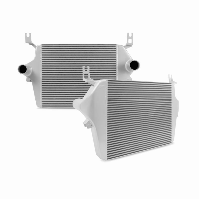 Mishimoto - Ford 6.0L Powerstroke Intercooler, 2003–2007 - SILVER