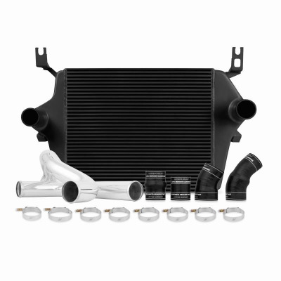 Mishimoto - Ford 6.0L Powerstroke Intercooler Kit, 2003–2007 - BLACK
