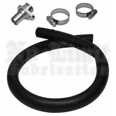 No Limit Fabrication  - 6.4 Factory Coolant Replacement Line Fix 08-10 Ford Super Duty Power Stroke No Limit Fabrication