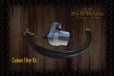 Filters / Fluids - Filtration Kits - G&R Diesel - G&R Diesel - Billet Aluminum 6.0 Coolant Filter Kit