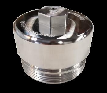 Engine Parts & Performance - Engine Dress Up - G&R Diesel - G&R Diesel - 6.0/6.4 Powerstroke Billet Oil Filter Cap