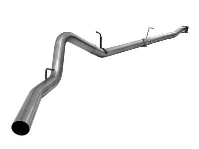 Exhaust Systems / Manifolds - CAT Back Single - AFE - 2011-16 GM GM Truck Diesel Duramax 6.6L LML- CB-MACH Force-Xp CAT back DPF Delete 4in Muffler:No   Tip:No  Bungs: No