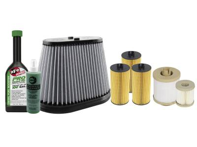 Filters / Fluids - Additives - AFE - aFe Power Filter Service Package Ford Diesel Trucks 03-07 V8-6.0L (td)