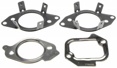 Victor Reinz - Victor Reinz EGR Inlet And Outlet Tube Gasket Set GS33702 2011-2014 Ford 6.7L