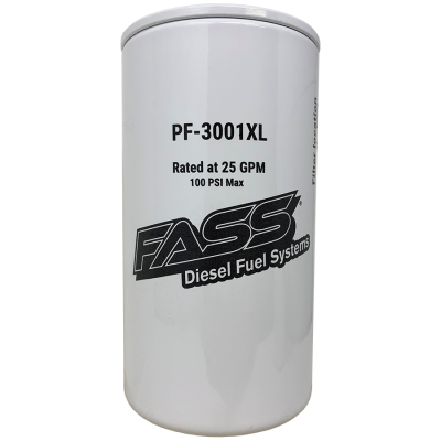 Filters / Fluids - Filters - FASS - FASS- Titanium Signature Series Extended Length Fuel Filter Replacement PF-3001XL