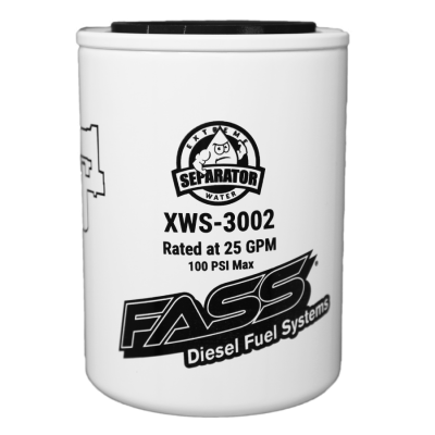 Lift Pumps & Fuel Systems - Replacement Filters - FASS - FASS-Titanium Signature Series Extreme Water Separator XWS-3002