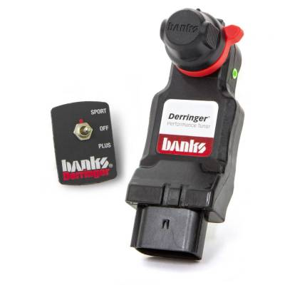 Tuners & Programmers - Tuners / Programmers - Banks Power - Derringer Tuner, w/Switch with ActiveSafety, includes Switch