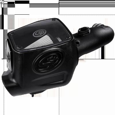 Air Intakes & Parts - Cold Air Intake - S&B Filters - Cold Air Intake For 2008-2010 Ford Powerstroke 6.4L (Dry Filter)