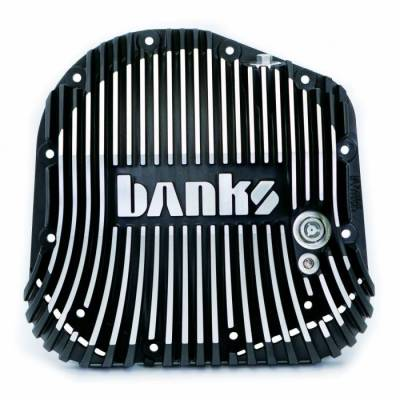 Banks Power - Banks Rear Differential Cover Kit Satin Black/Machined, w/Hardware