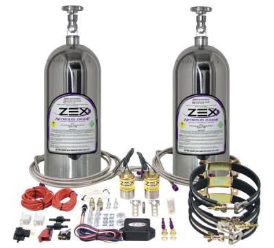 """Water Methanol & Nitrous - Nitrous - ZEX - ZEX Nitrous Sys., Zex Race Diesel """"Polished"""" 82044P"""